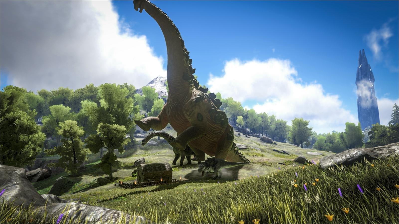 Titanosaurus: Der neue größte Saurier in ARK: Survival Evolved