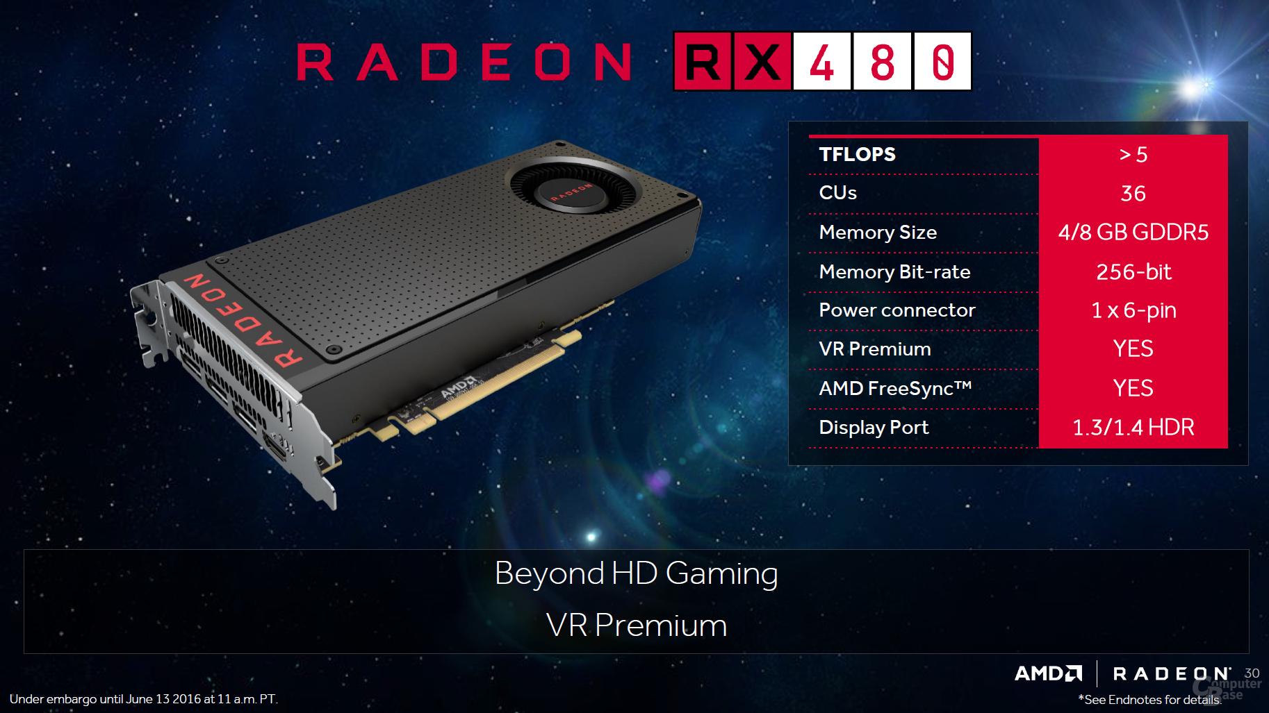 AMD Polaris: Weitere Details zur neuen Radeon-Generation