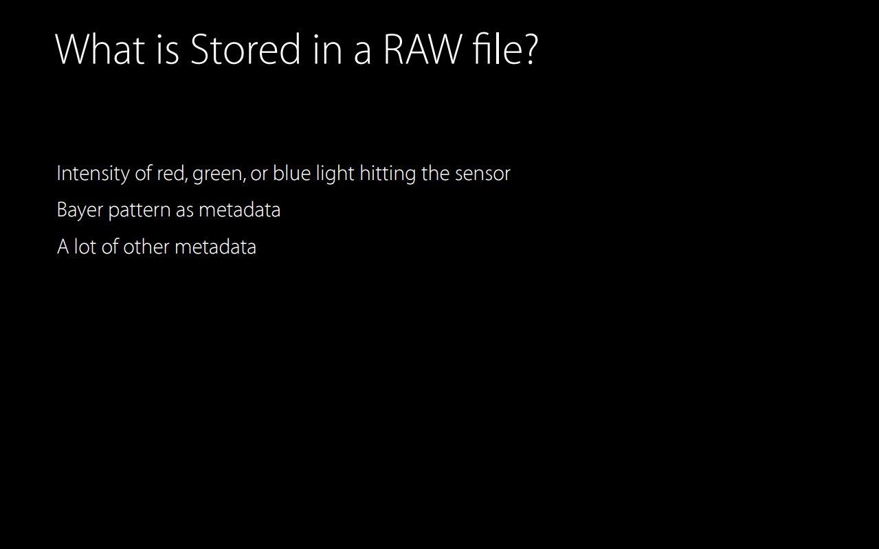 RAW-Unterstützung ab iOS 10