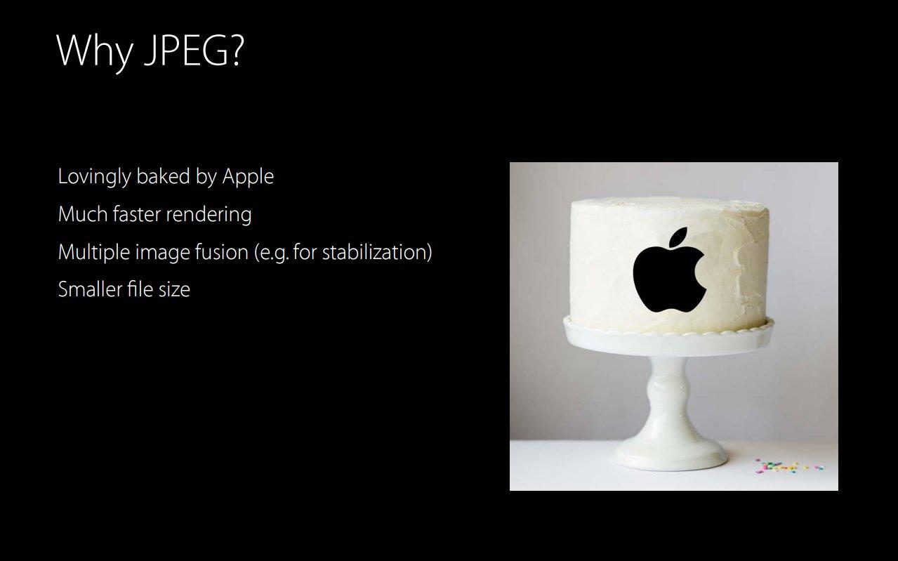 Vorteile von JPEG