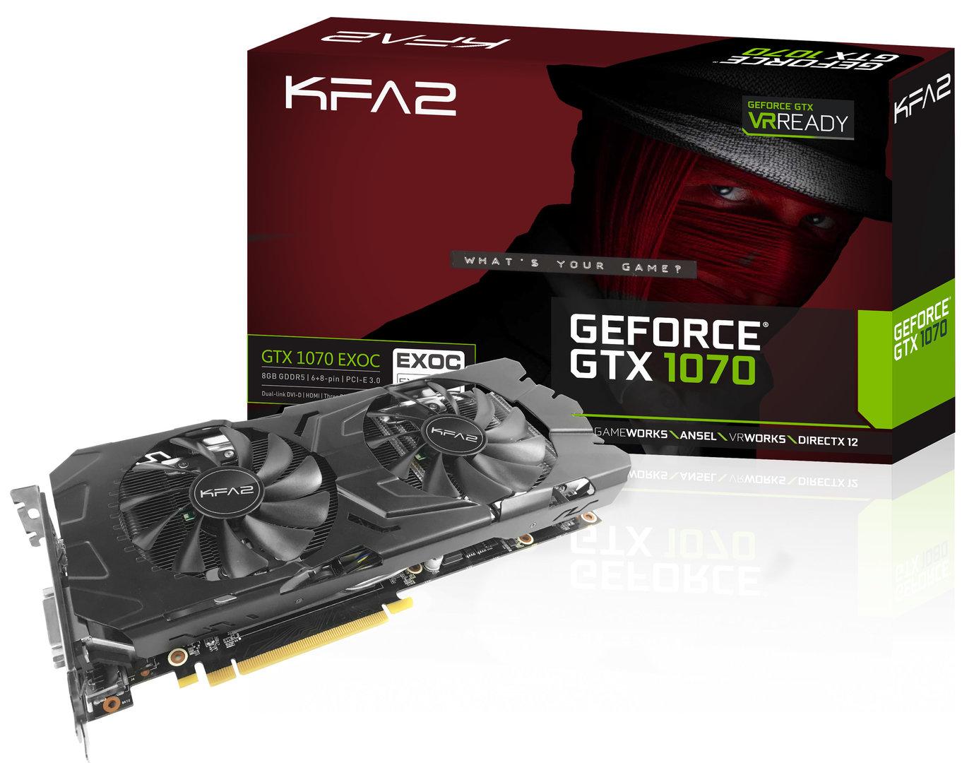 KFA² GeForce GTX 1070 EXOC