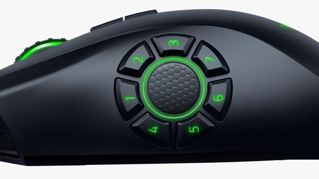 Razer Naga Hex V2: MOBA-Maus erhält mehr Tasten und dpi