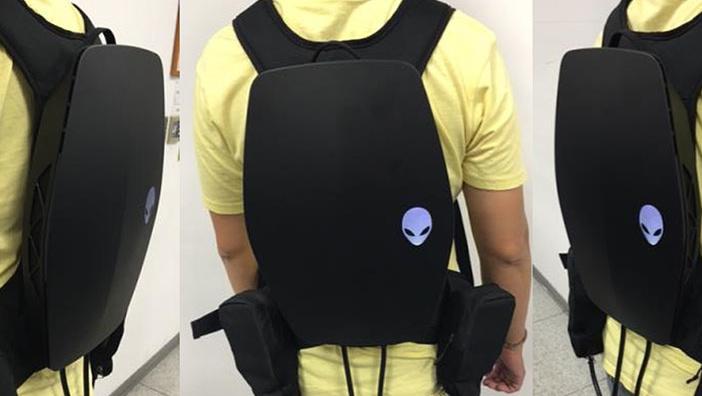 VR Backpack: Alienware und AMD schnallen PC auf den Rücken
