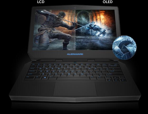 Alienware veranschaulicht Vorzüge der OLED-Technik