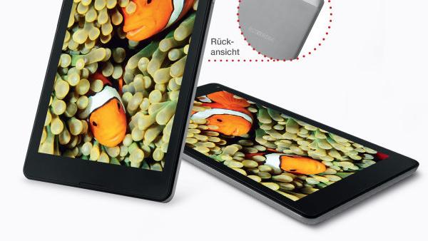 Aldi Nord: 8-Zoll-Tablet mit Intel Atom x5-Z8350 für 129 Euro
