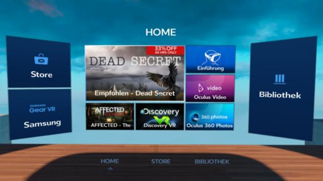 Gear VR: Neues Oculus Home entspricht der Rift CV1
