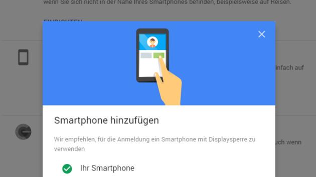 Google Prompt: Neue Zwei-Faktor-Authentifizierung spart Zeit