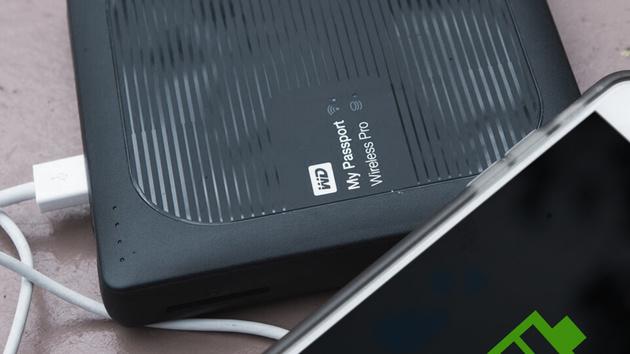 My Passport Wireless Pro: Externe HDD mit WLAN, Akku, SD‑Slot und USB3.0