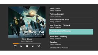 Android-TV-Benutzeroberfläche