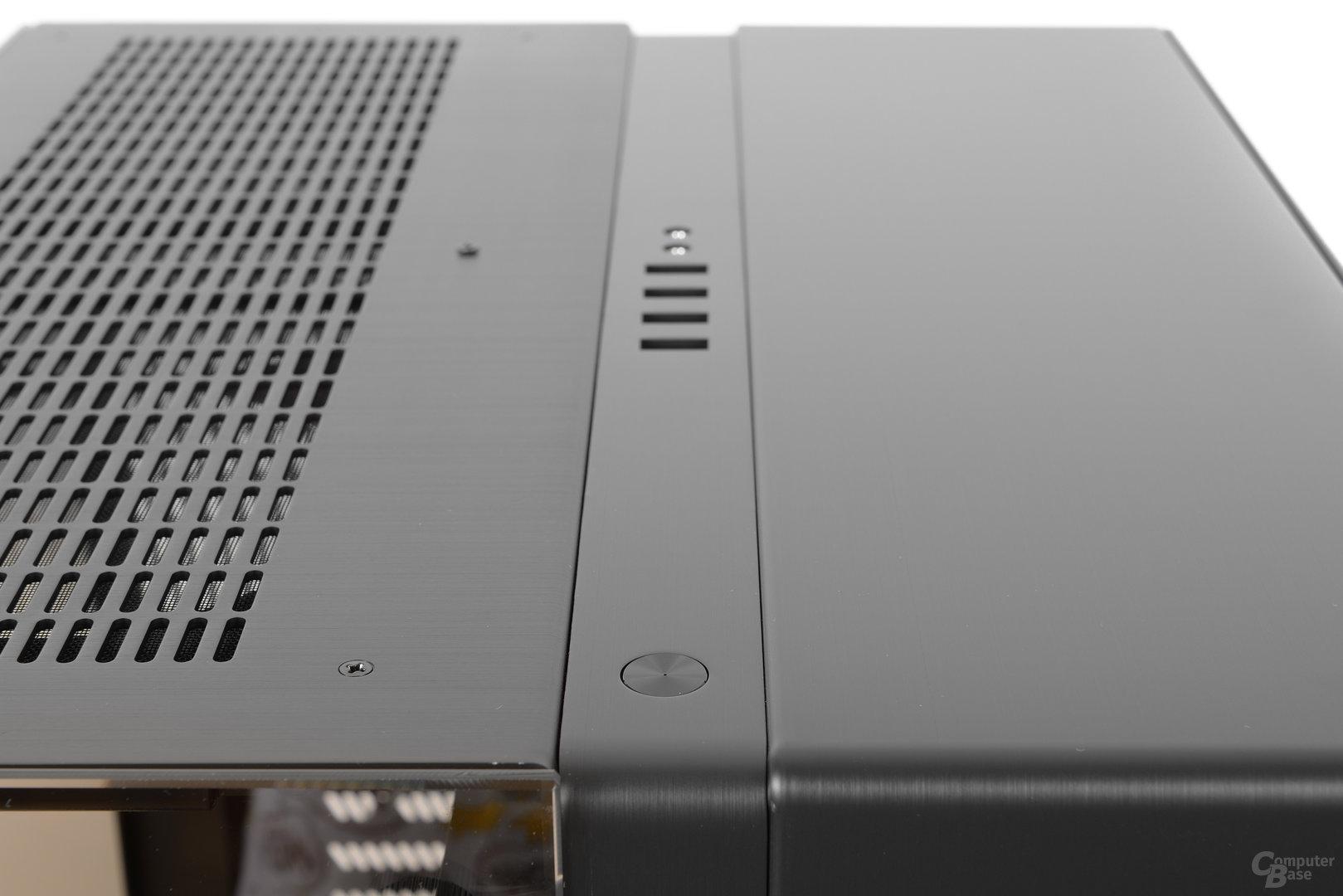 Lian Li PC-O9 – Startknopf