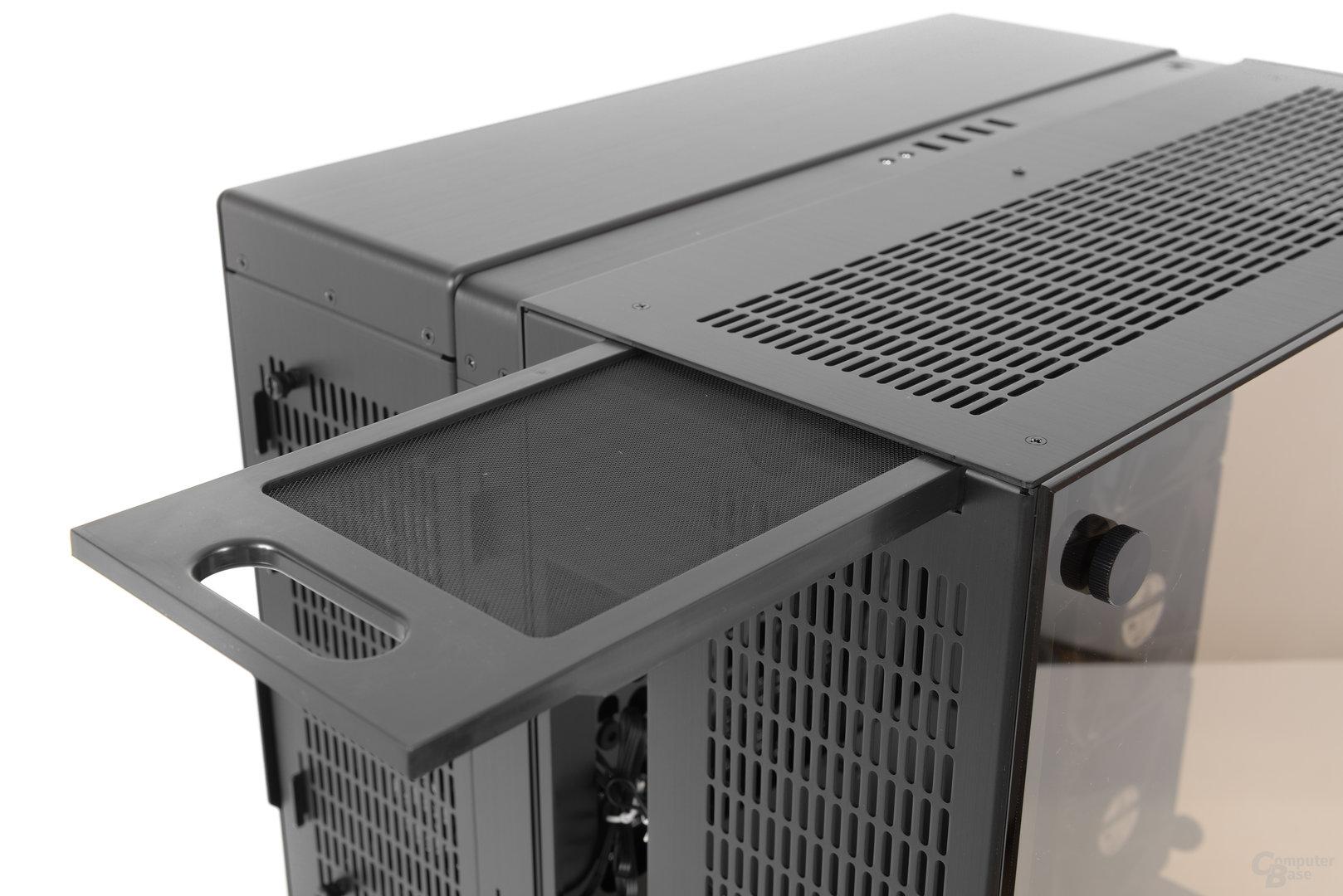 Lian Li PC-O9 – Topstaubfilter