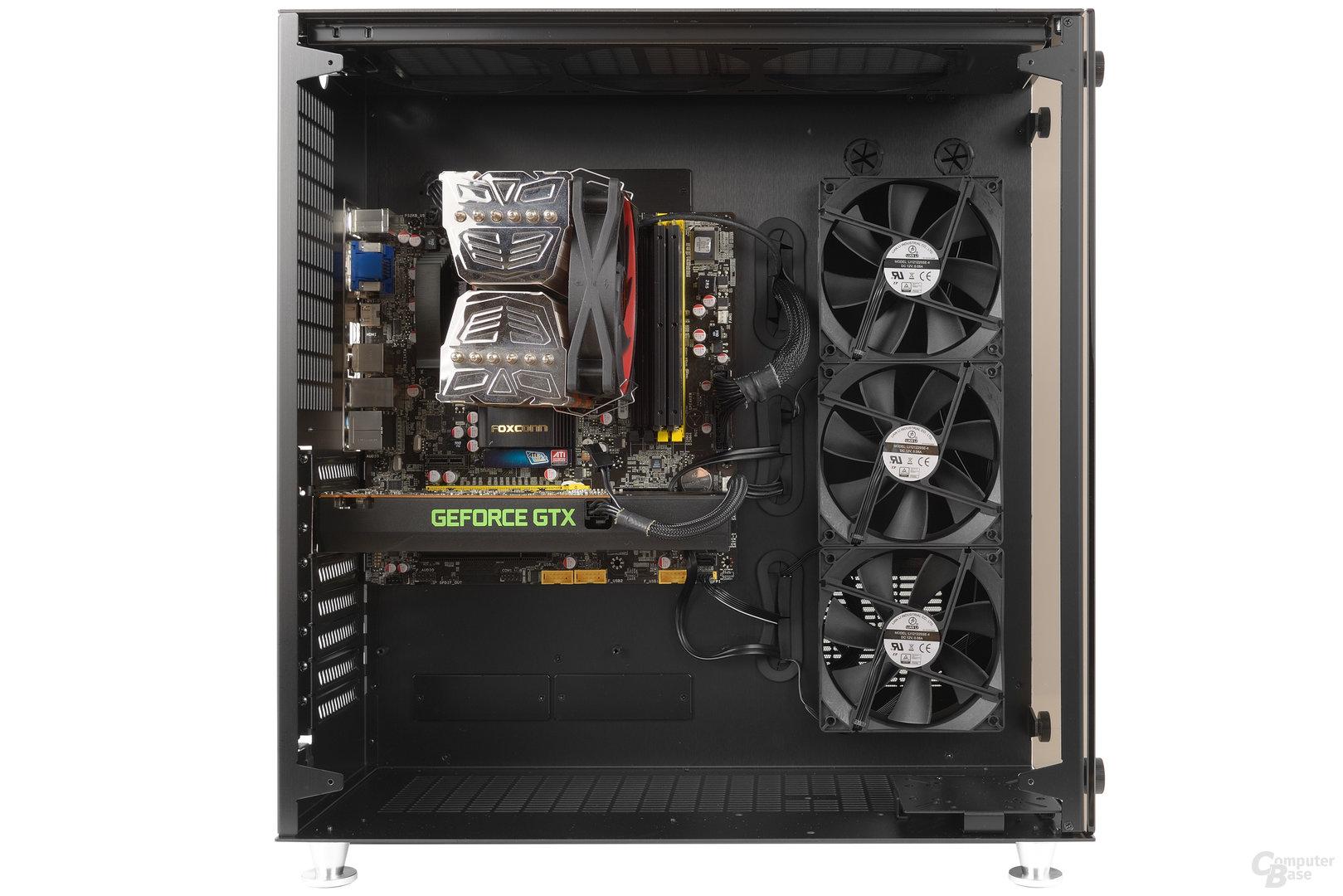 Lian Li PC-O9 – Testsystem