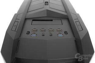 Aerocool XPredator II – Das Panel ist sehr umfangreich