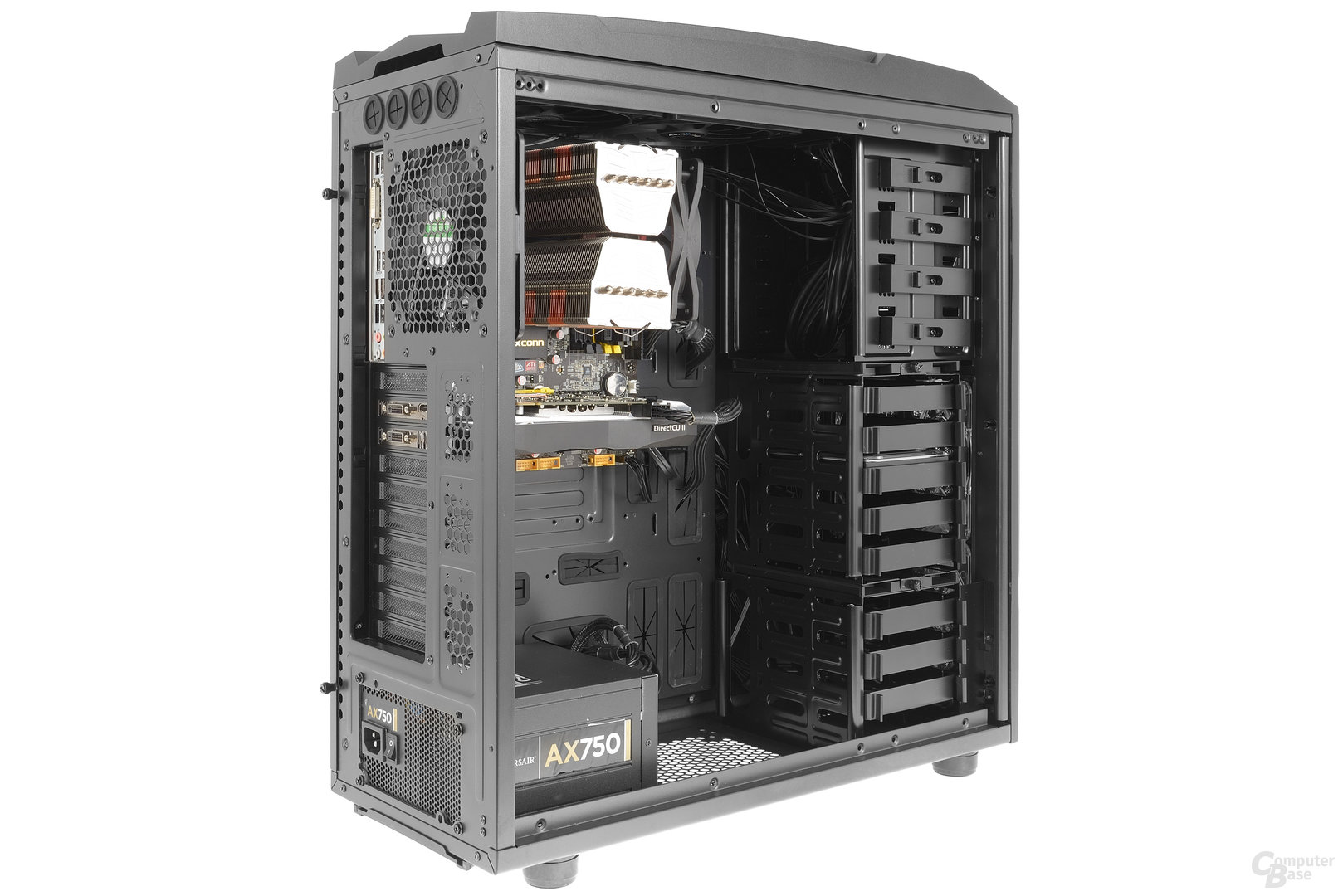 Aerocool XPredator II – Testsystem