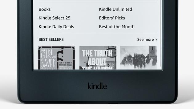 Amazon: Kindle 2016 ist leichter und dünner zum gleichen Preis