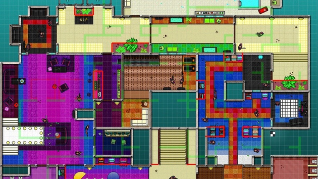 Hotline Miami 2: Level-Editor für das pixelige 2D‑Actionspiel nun offiziell