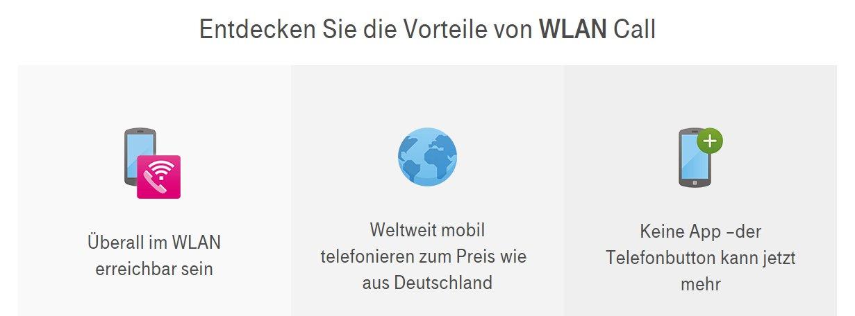 Vorteile von WLAN Call