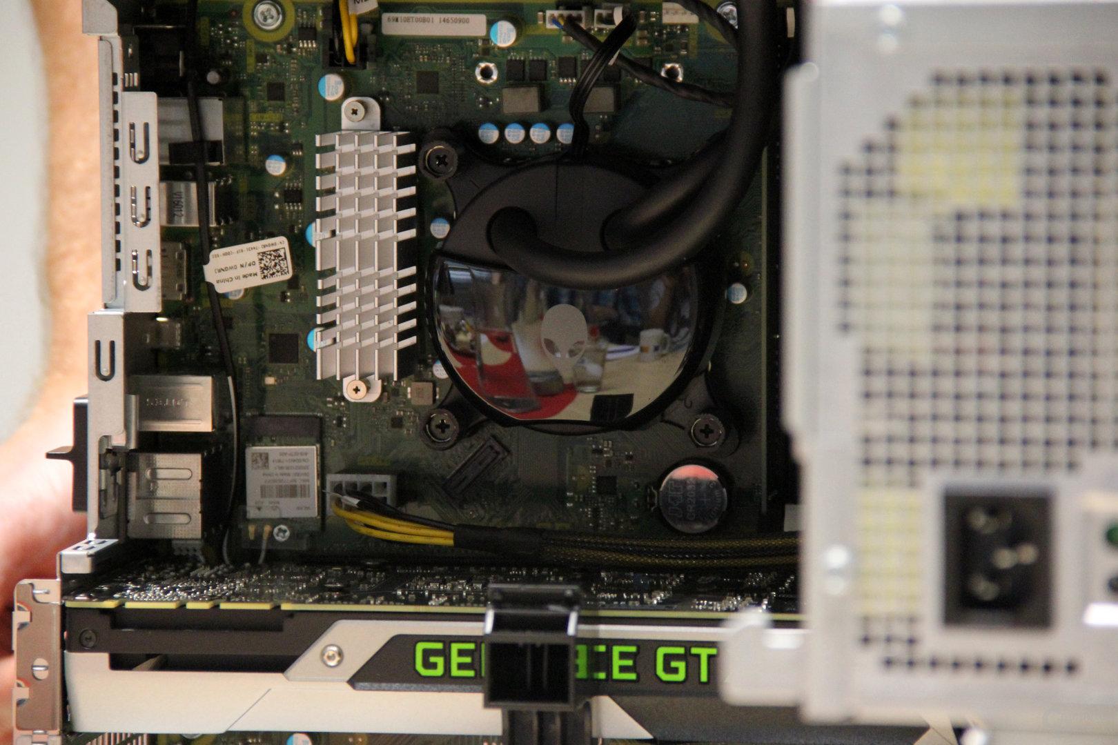 Alienware hat die CPU-Kühlung selbst produziert