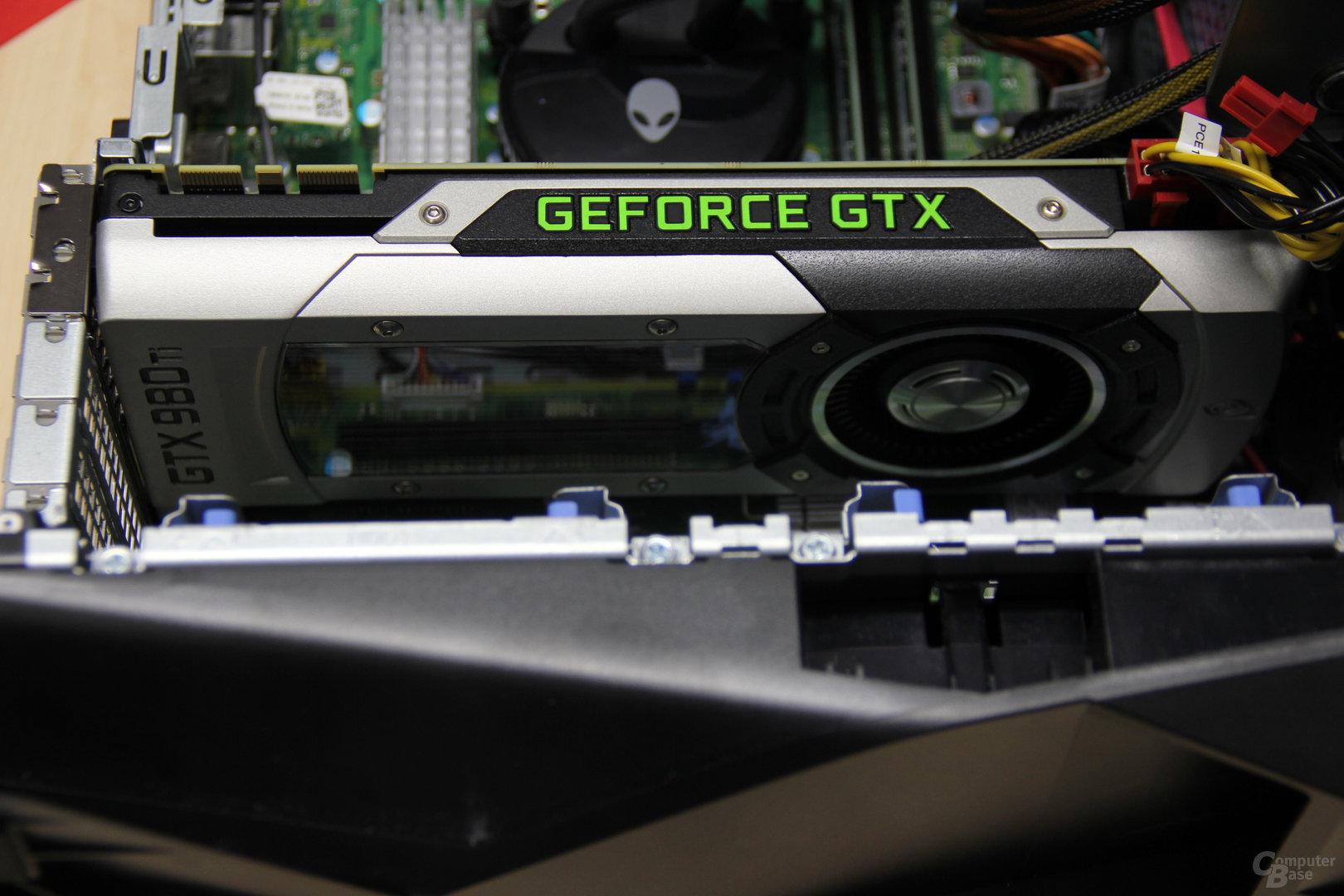 Im Aurora kommen GeForce-Referenzkarten zum Einsatz