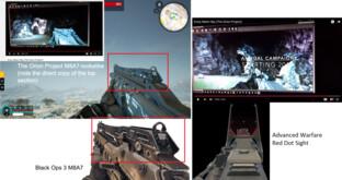 Ähnlichkeiten beim Visier des M8A7