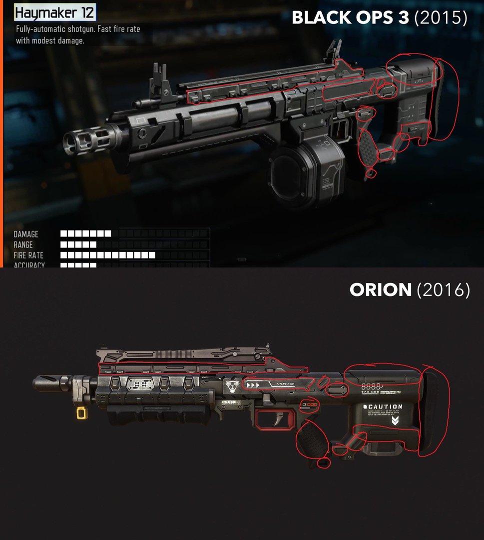 Ein weiterer Waffenvergleich eines Nutzers