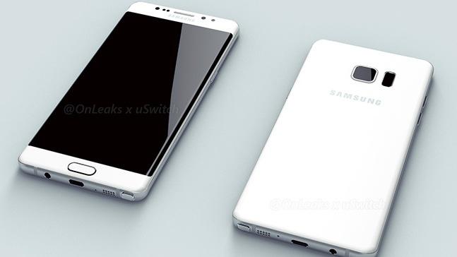 Samsung Galaxy Note 7: Gleicher Akku wie Galaxy S7 Edge und neues TouchWiz