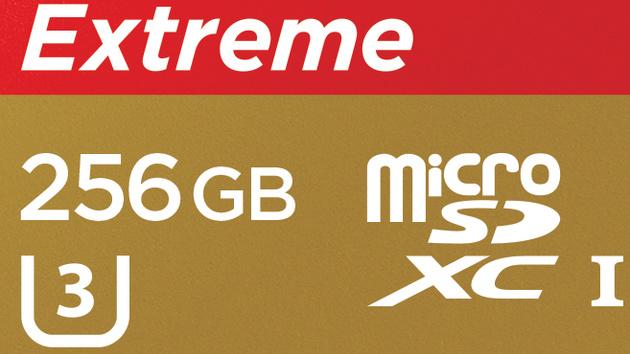 microSDXC mit 256 GB: SanDisk erreicht die höchste Kapazitätsklasse