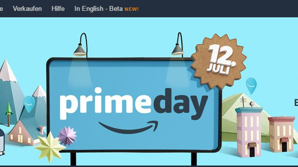 Aktion: Amazon Prime Day startet am 12. Juli