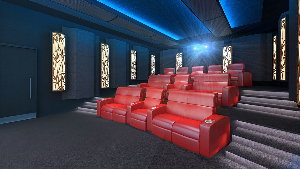 IMAX Privat Theatre Palais (Bamboo Design)