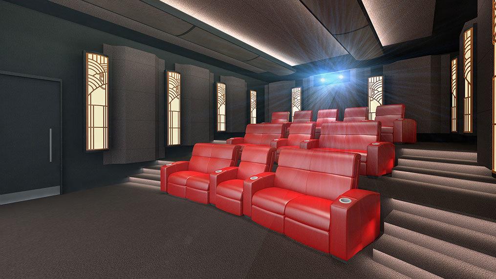 IMAX Privat Theatre Palais (Art Deco Design)