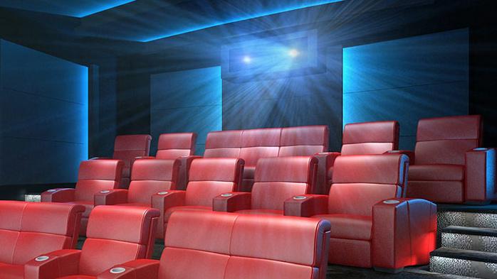 imax private theatre heimkino mit dual 4k projektion ab. Black Bedroom Furniture Sets. Home Design Ideas