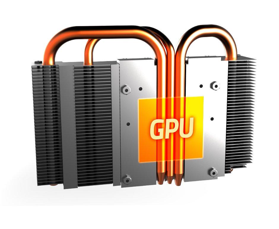 Kühler der GeForce GTX 1070 Mini ITX OC