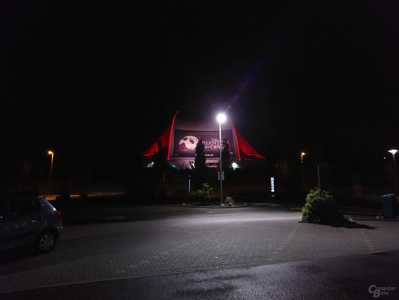 Sony Xperia X Performance – Nacht mit Blitz