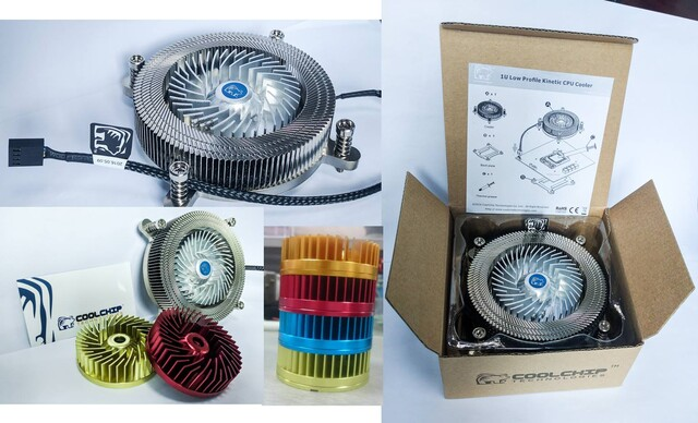 "1U Low Profile Kinetic Cooler ""kommt bald"""