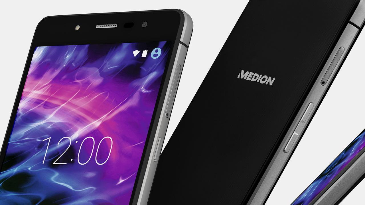 Android-Smartphone: Medion S5004 ab 14.Juli für 159Euro bei Aldi Nord
