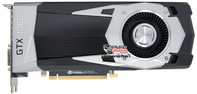 Nvidia GeForce GTX 1060 im Referenzdesign