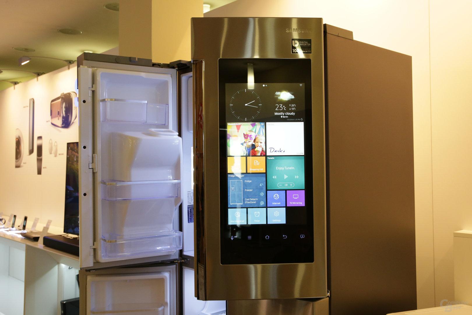 Samsung: Quad-Core-Kühlschrank kommt nach Deutschland - ComputerBase