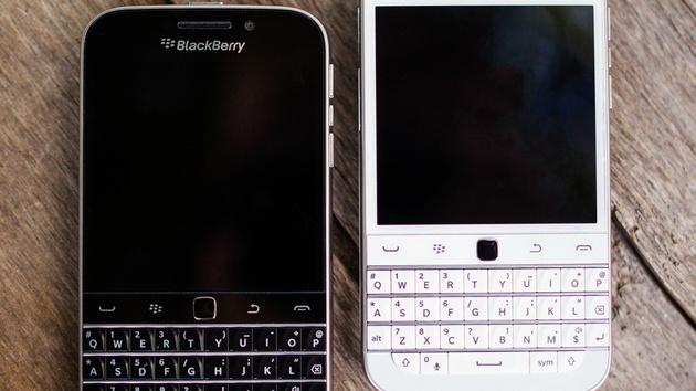 BlackBerry Classic: Smartphone mit Tastatur und Trackpad wird eingestellt