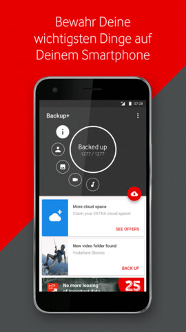 Vodafone Backup+ (Android)