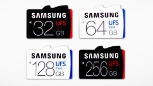 Universal Flash Storage: Samsungs erste UFS-Speicherkarte liefert 530 MB/s