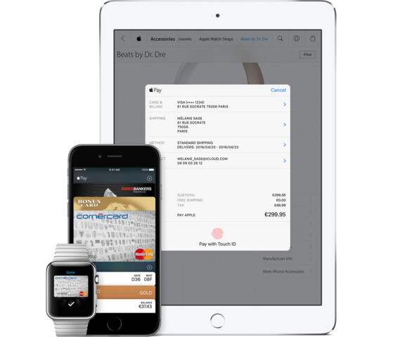 Apple Pay in der Schweiz auf iPhone, Apple Watch und iPad