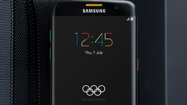 Samsung Galaxy S7 edge: 2.016 Exemplare als Olympic Games Limited Edition