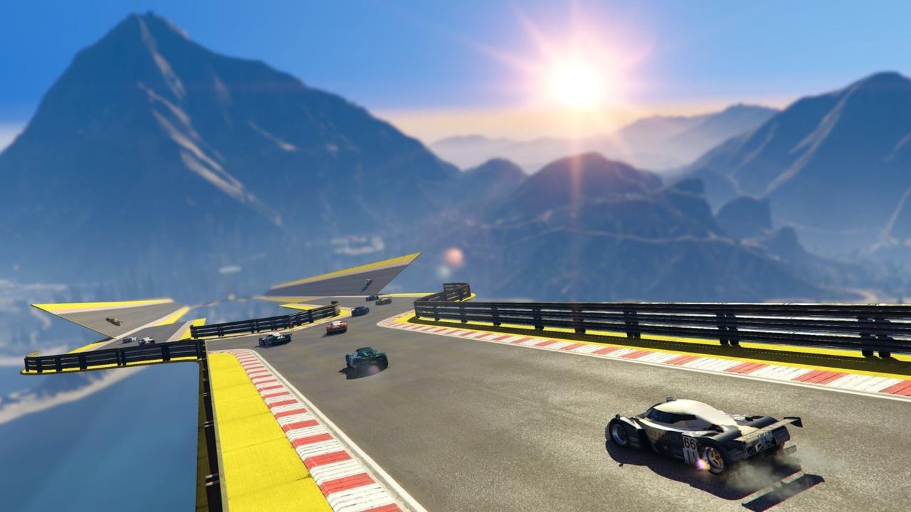 Stunt-Rennen: Cunning Stunts macht GTA Online zu Trackmania