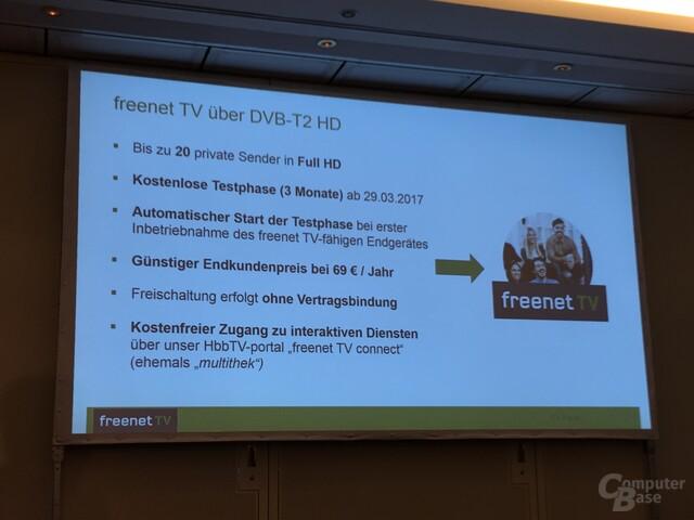 Übersicht der Kosten von Freenet TV