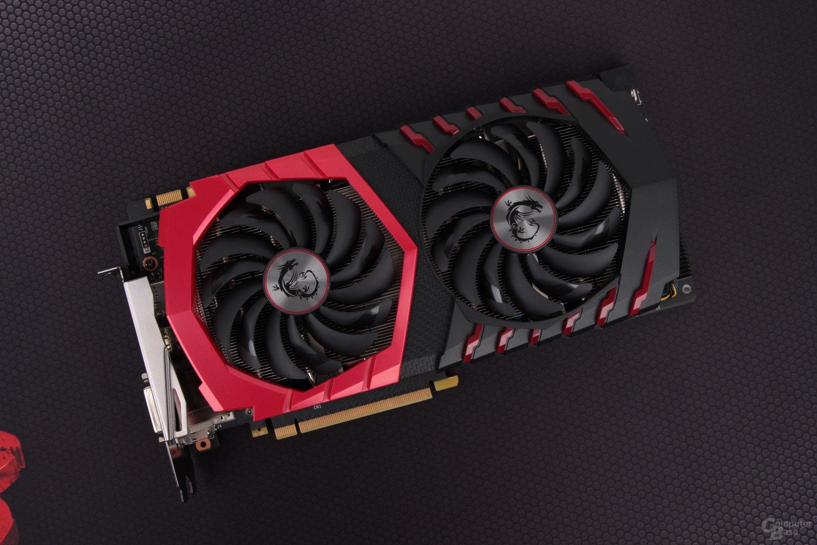 Die MSI GeForce GTX 1080 Gaming X