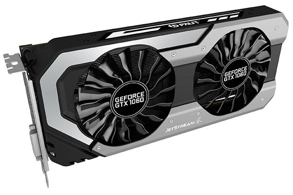 Palit GeForce GTX 1060 (Super) JetStream