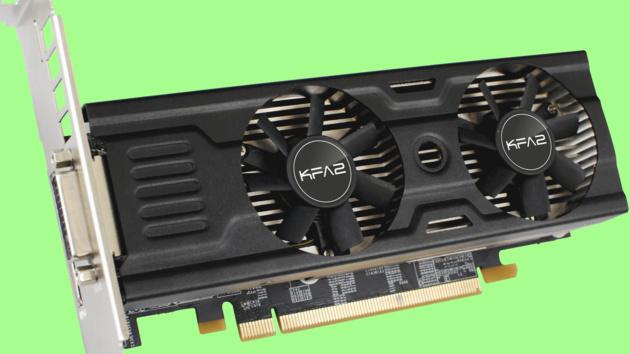 GTX 950 OC LP 2GB: KFA² hat die schnellste Low‑Profile-Grafikkarte