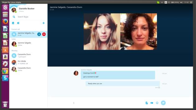 Skype: Alpha-Client für Linux, Anrufe mit Chrome(books)