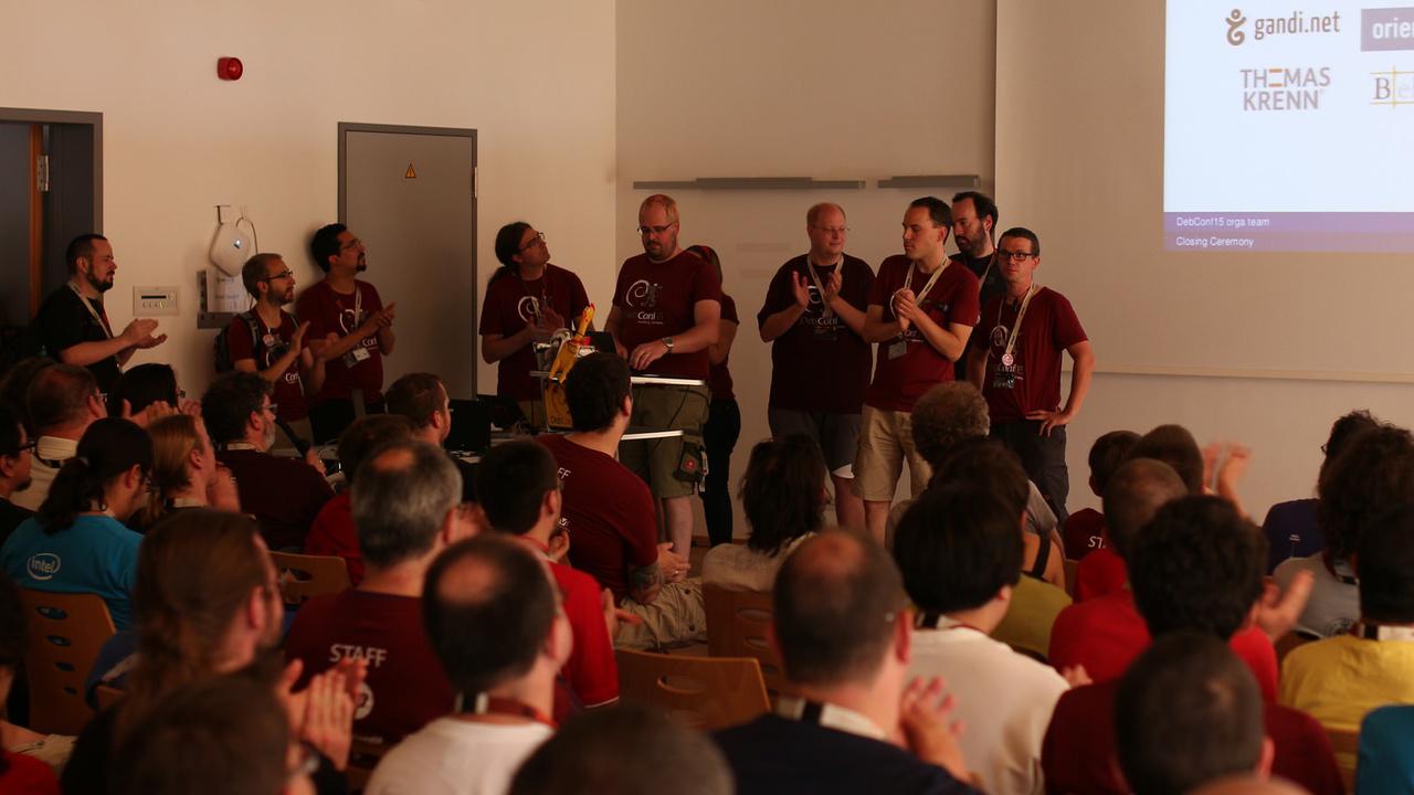 Konferenzen: Alle Vorträge der DebConf 16 online verfügbar