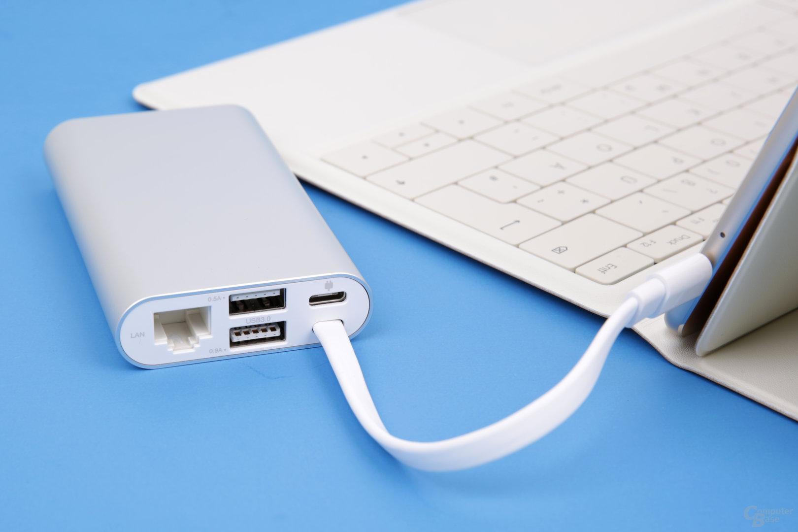 Huawei MateDock: USB & LAN